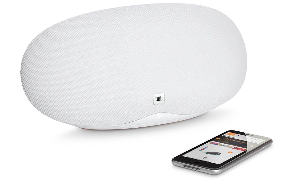 Głośnik JBL Playlist 150 Biały z funkcją Spotify Connect