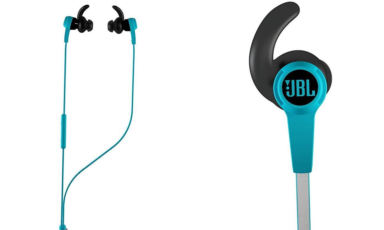 Słuchawki dokanałowe JBL Synchros Reflect BLU niebieskie