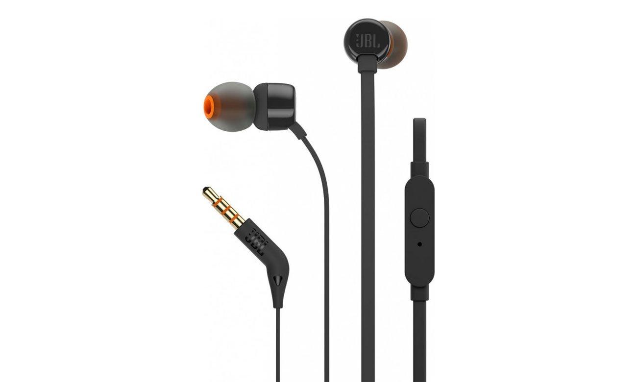 Słuchawki dokanałowe JBL T110BLK czarne