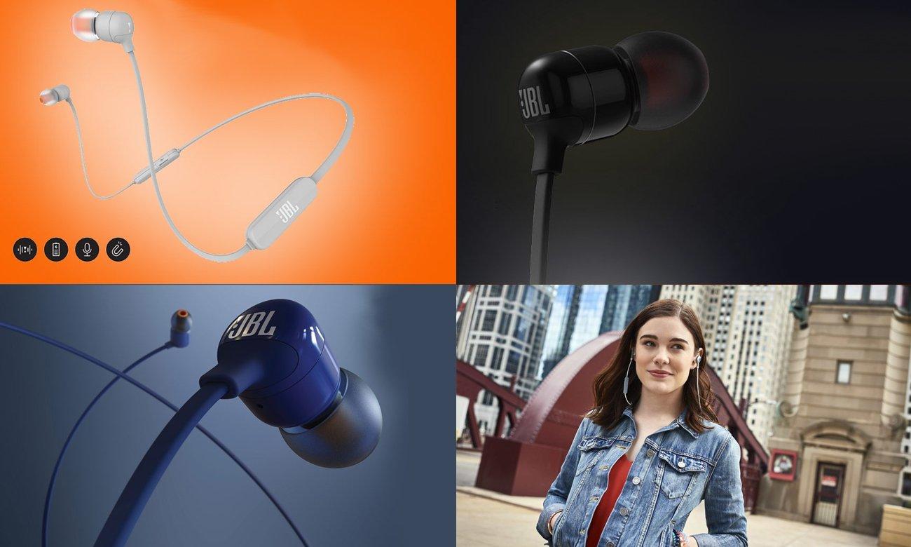 Wysokiej jakości przetwornik w słuchawkach JBL T110