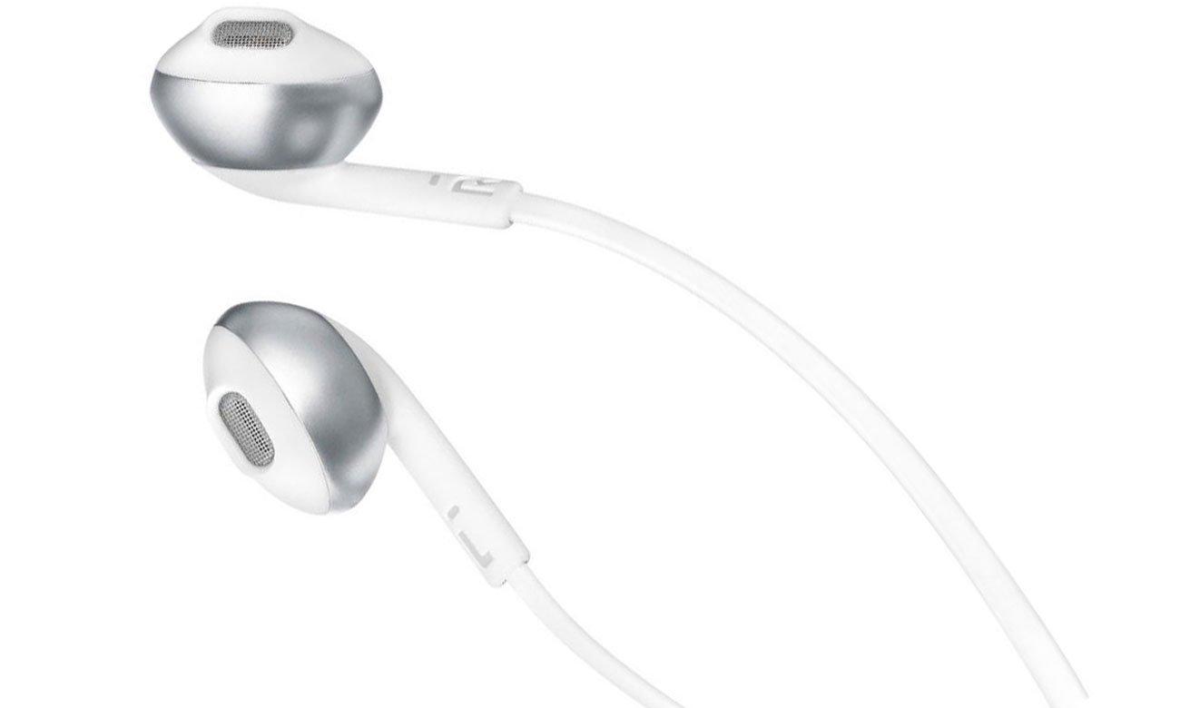 Wysokiej jakości przetwornik w słuchawkach dousznych JBL T205