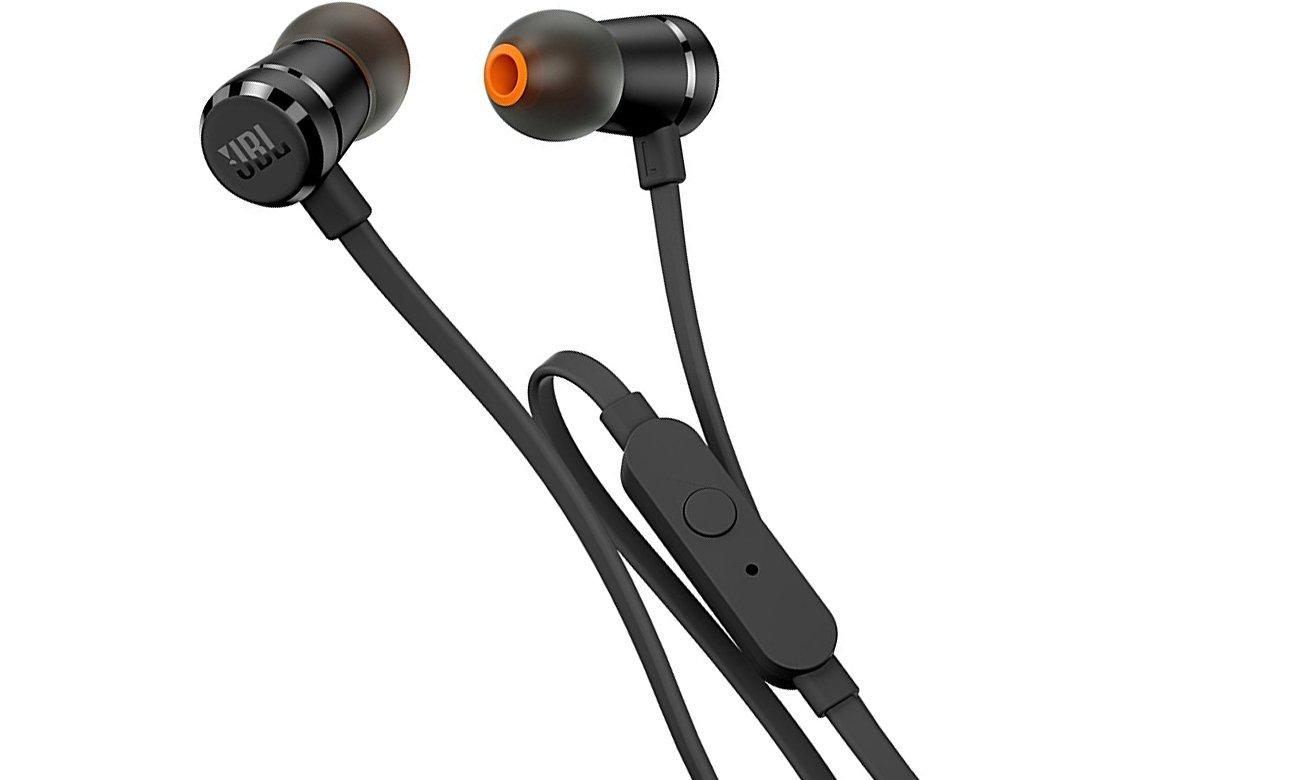 Słuchawki przewodowe JBL T290BLK czarne