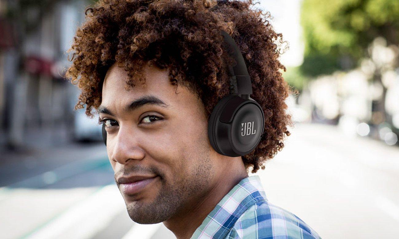 Wygodne słuchawki nauszne JBL T450BT
