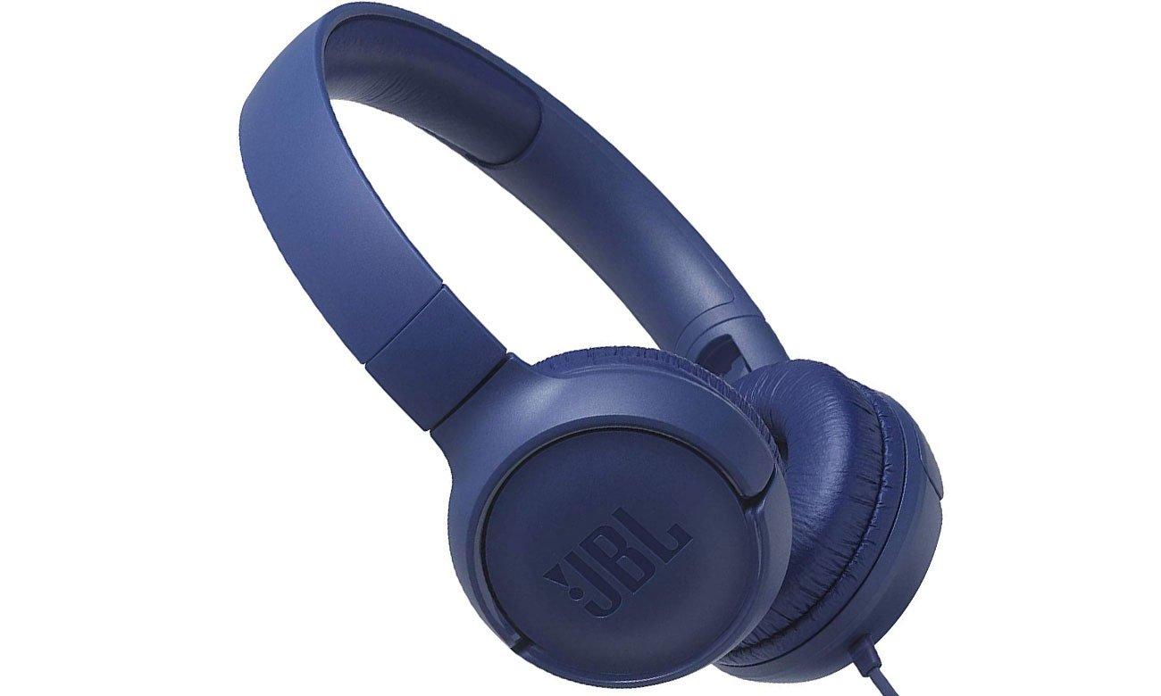 Brzmienie nausznych słuchawek JBL T500