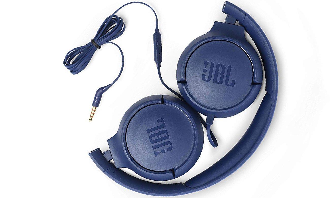 Słuchawki nauszne JBL T500 niebieskie