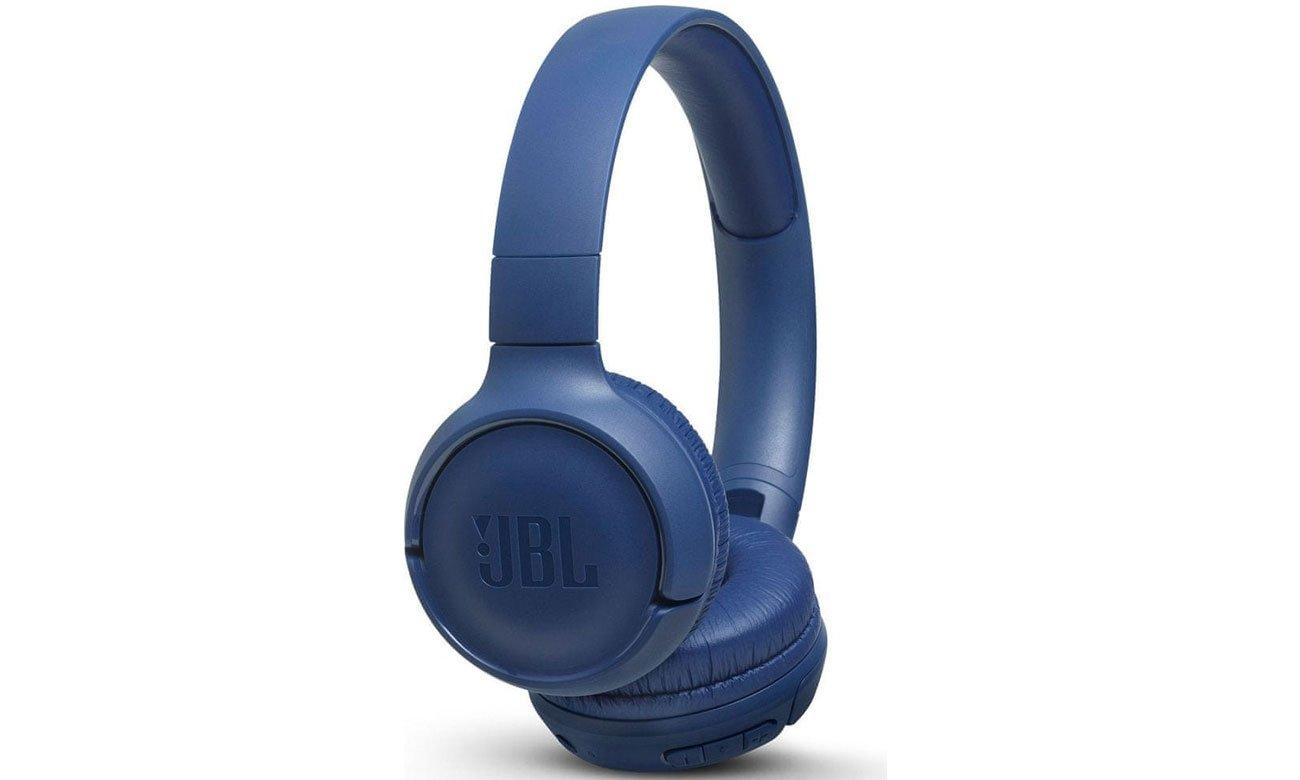 Słuchawkach bezprzewodowe JBL T500BT niebieskie