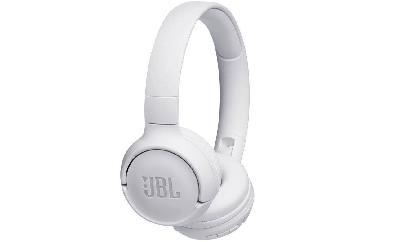 Słuchawkach bezprzewodowe JBL T500BT białe