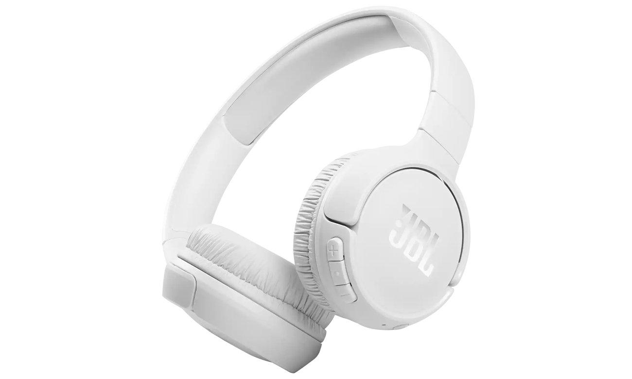 Słuchawki bezprzewodowe JBL Tune 510 BT Białe