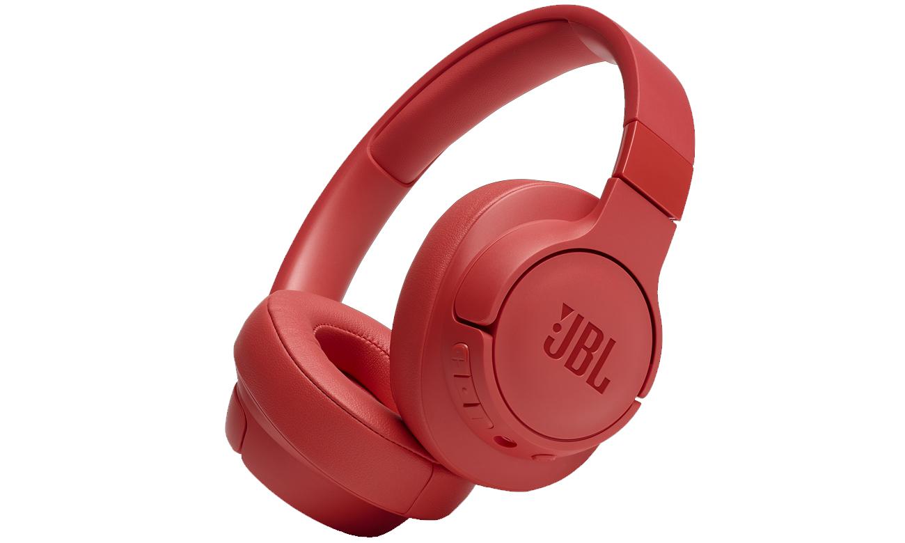 Słuchawki bezprzewodowe JBL TUNE T700BT koralowe