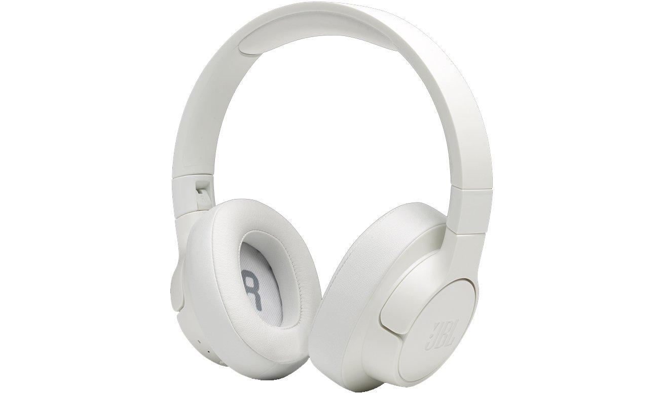 Słuchawki bezprzewodowe JBL TUNE T700BT białe
