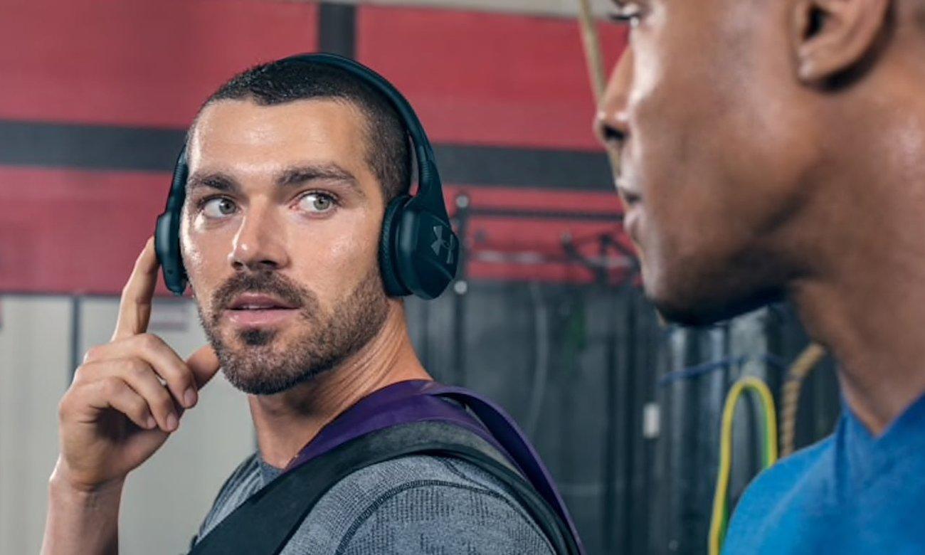 Nauszne słuchawki idalne na siłownię JBL Under Armour Train