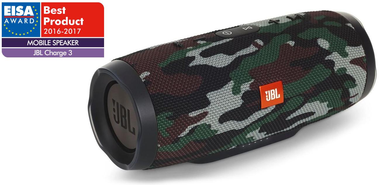 Głośnik bezprzewodowy, wodoodporny IPX7 JBL CHARGE 3 moro