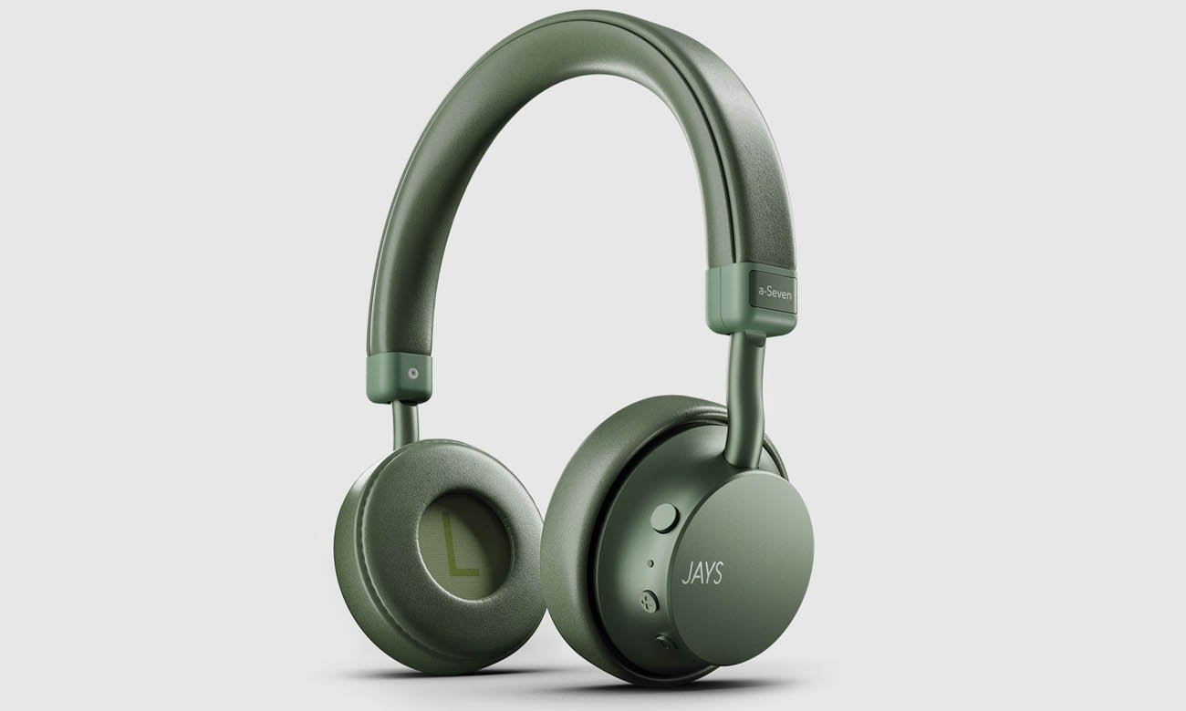 Słuchawki bezprzewodowe Jays a-Seven Wireless Zielone Green