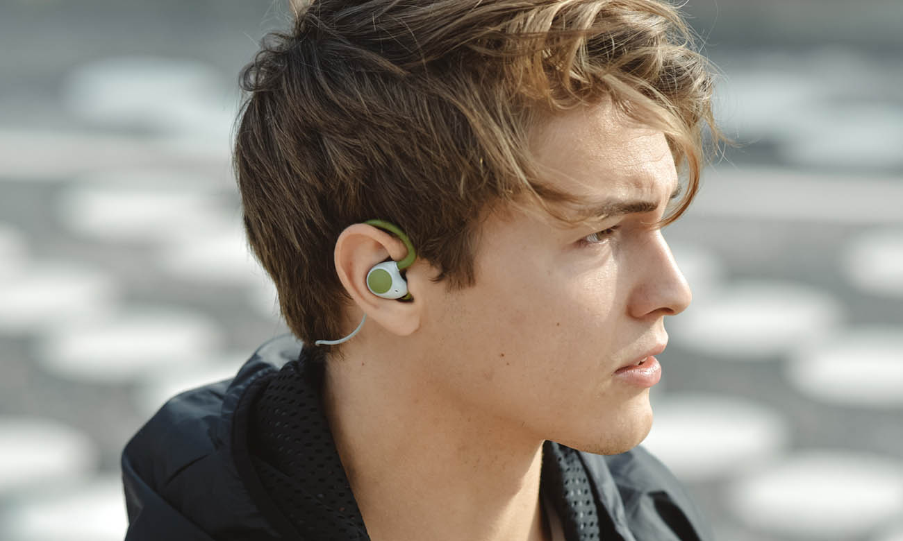 Słuchawki sportowe Jays m-Six Wireless Zielone