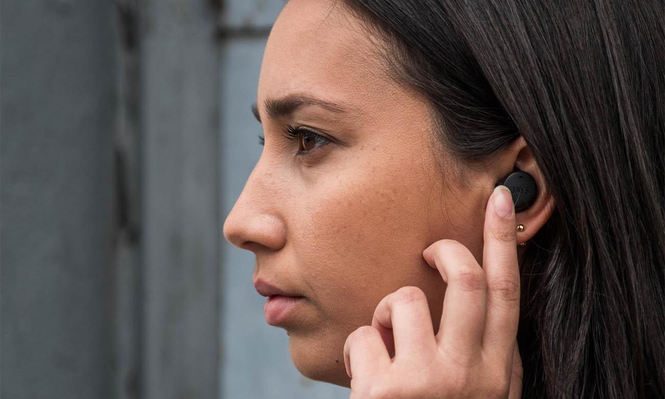 Słuchawki dokanałowe JAYS m-Five sterowanie głosowe i dotykowe
