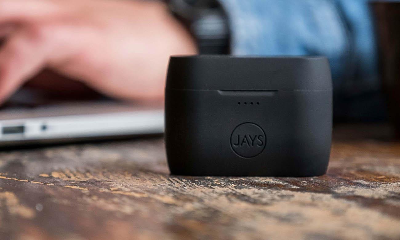 Słuchawki dokanałowe JAYS m-Five z Bluetooth 5.0 i wydajna baterią