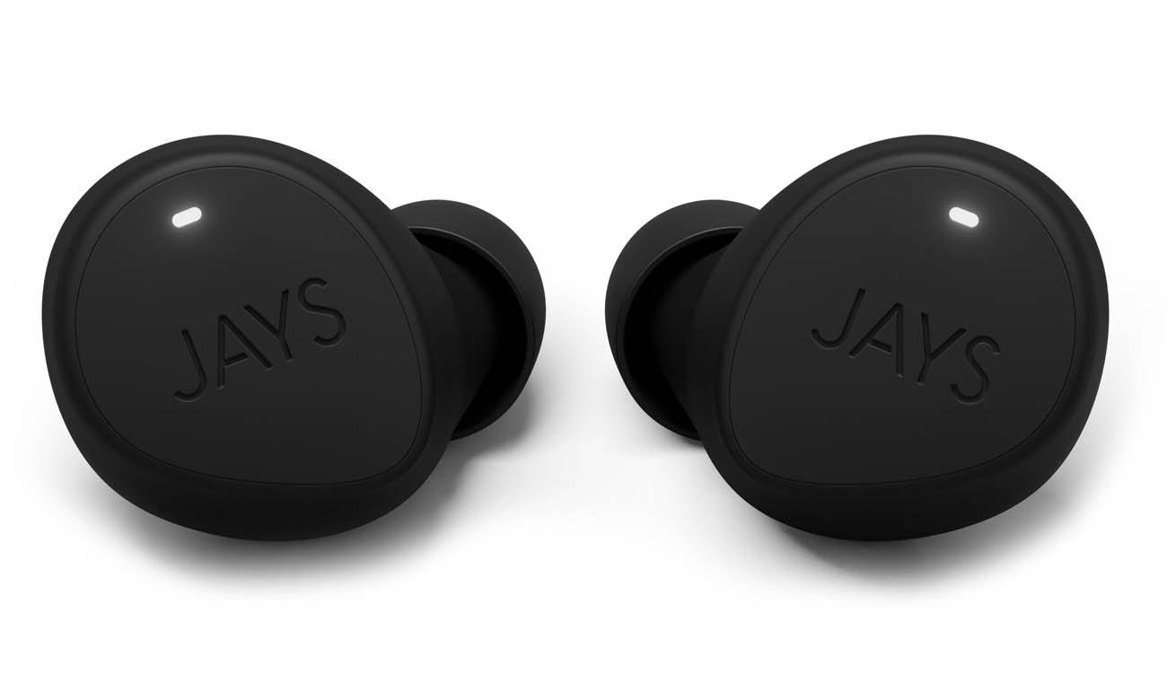 Sportowe słuchawki dokanałowe JAYS m-Seven True Wireless