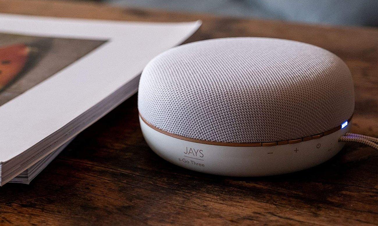 Głośnik Bluetooth JAYS s-Go Three z dźwiękiem 360°