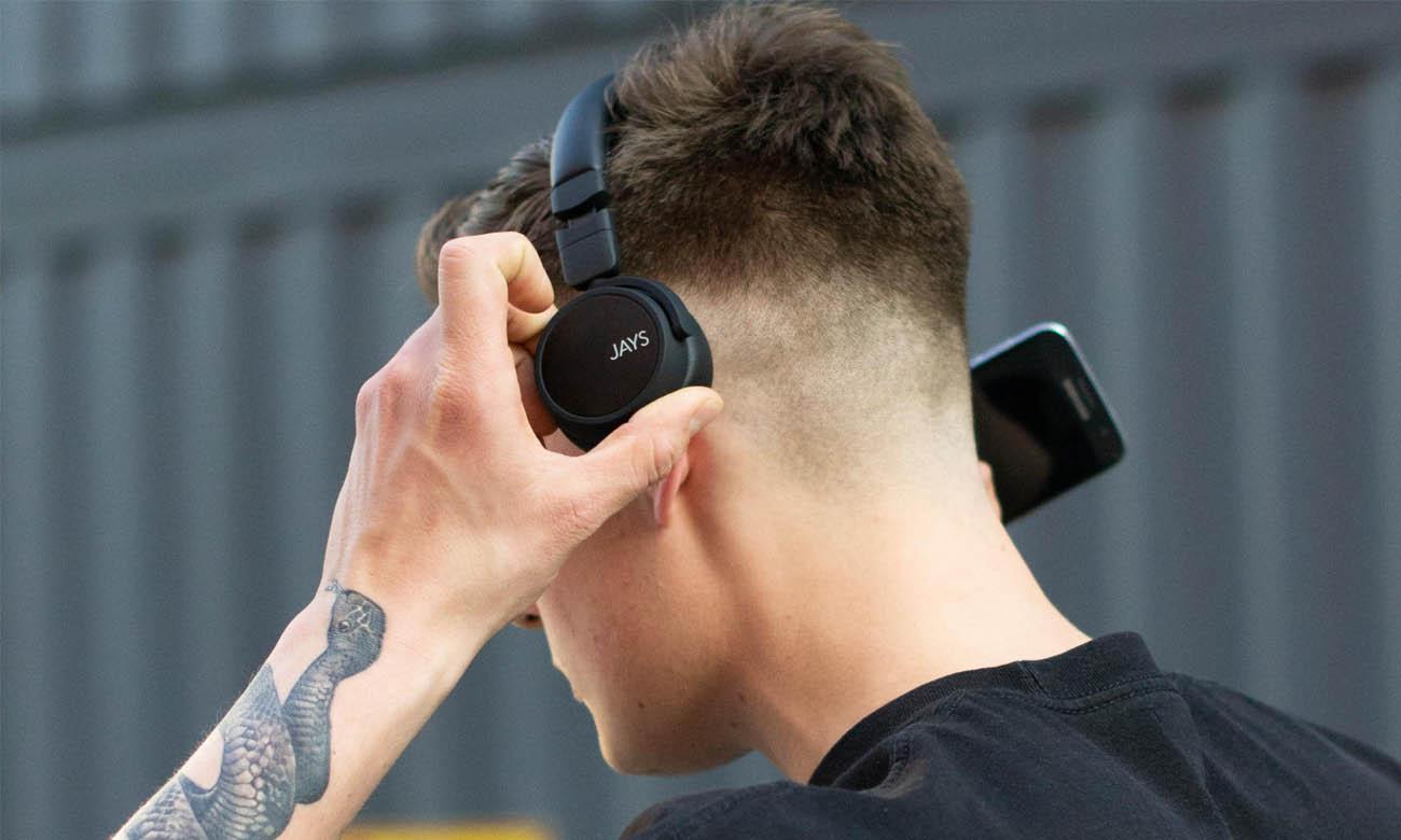 Słuchawki Jays x-Five z prostym sterowaniem i technologią Bluetooth 4.1