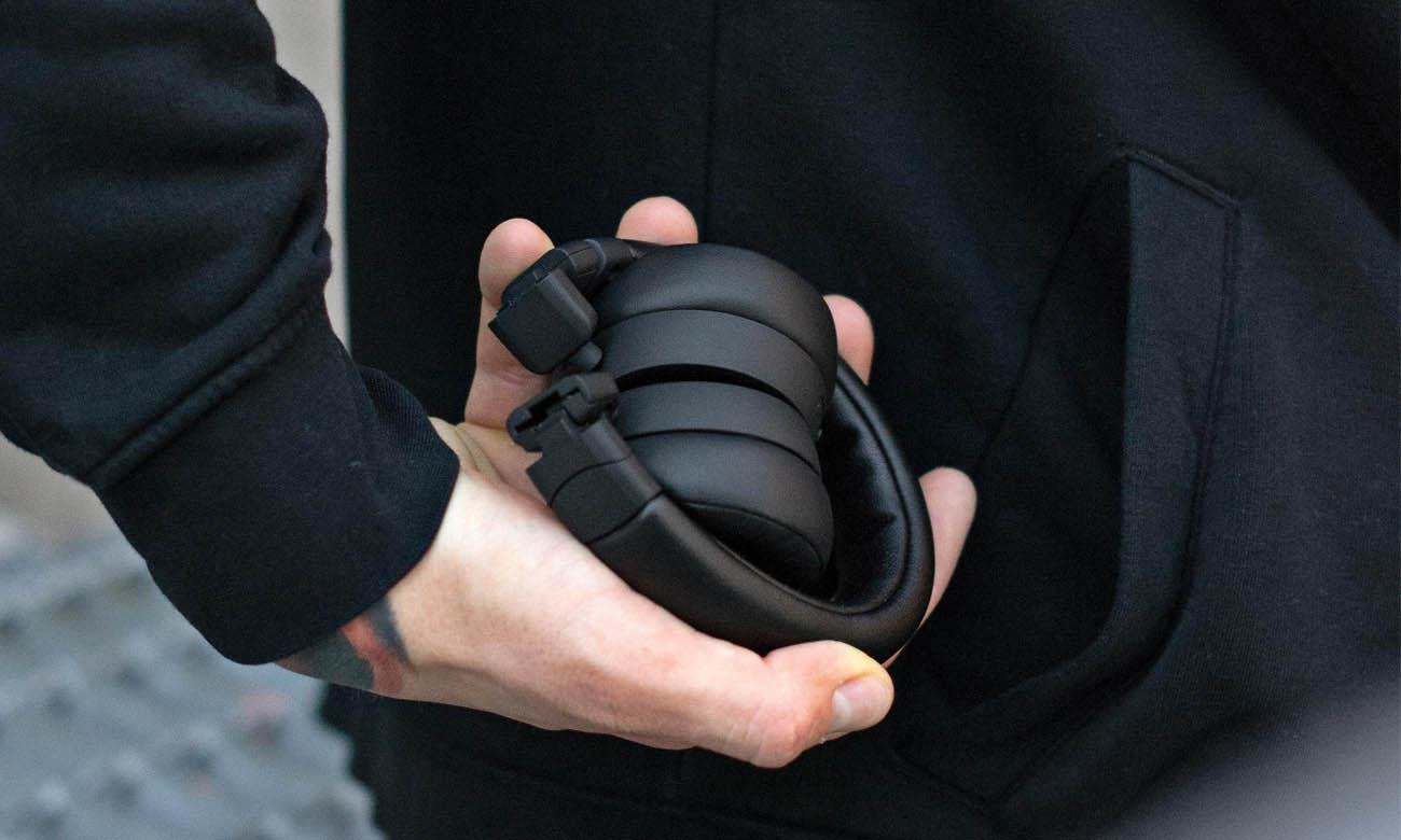 Wygodne, mobilne, lekkie słuchawki Jays x-Five