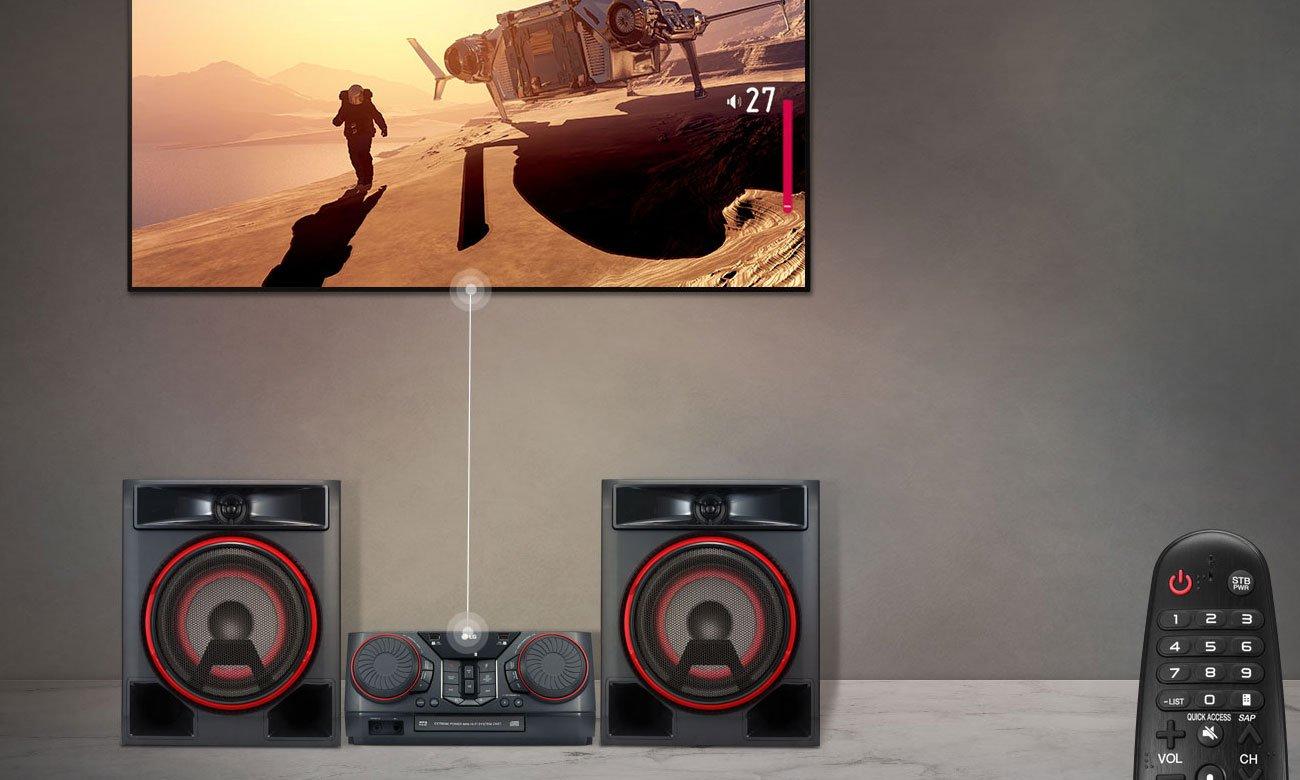 Mocny system audio do tv LG CK56