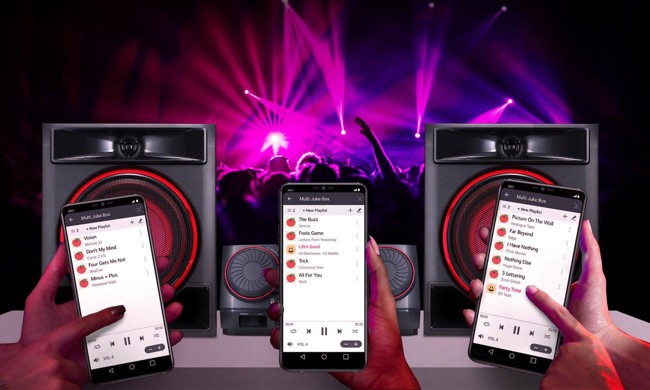 Łączność Bluetooth w swieży LG CK56