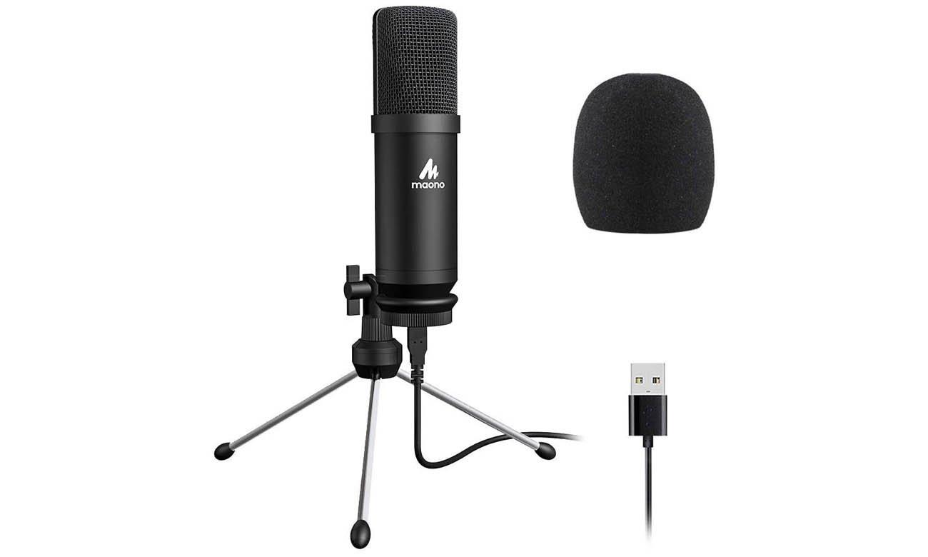 Mikrofon pojemnościowy MAONO AU-A04TR opinie