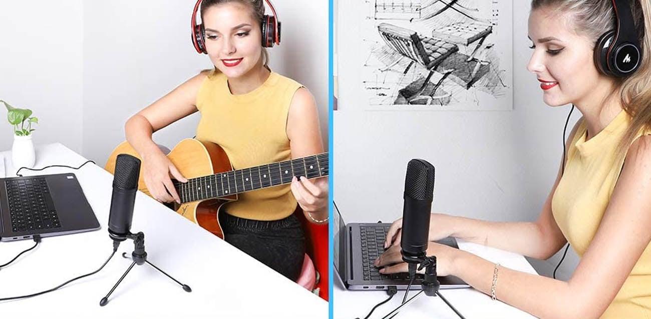 Profesjonalny mikrofon pojemnościowy MAONO AU-A04TR