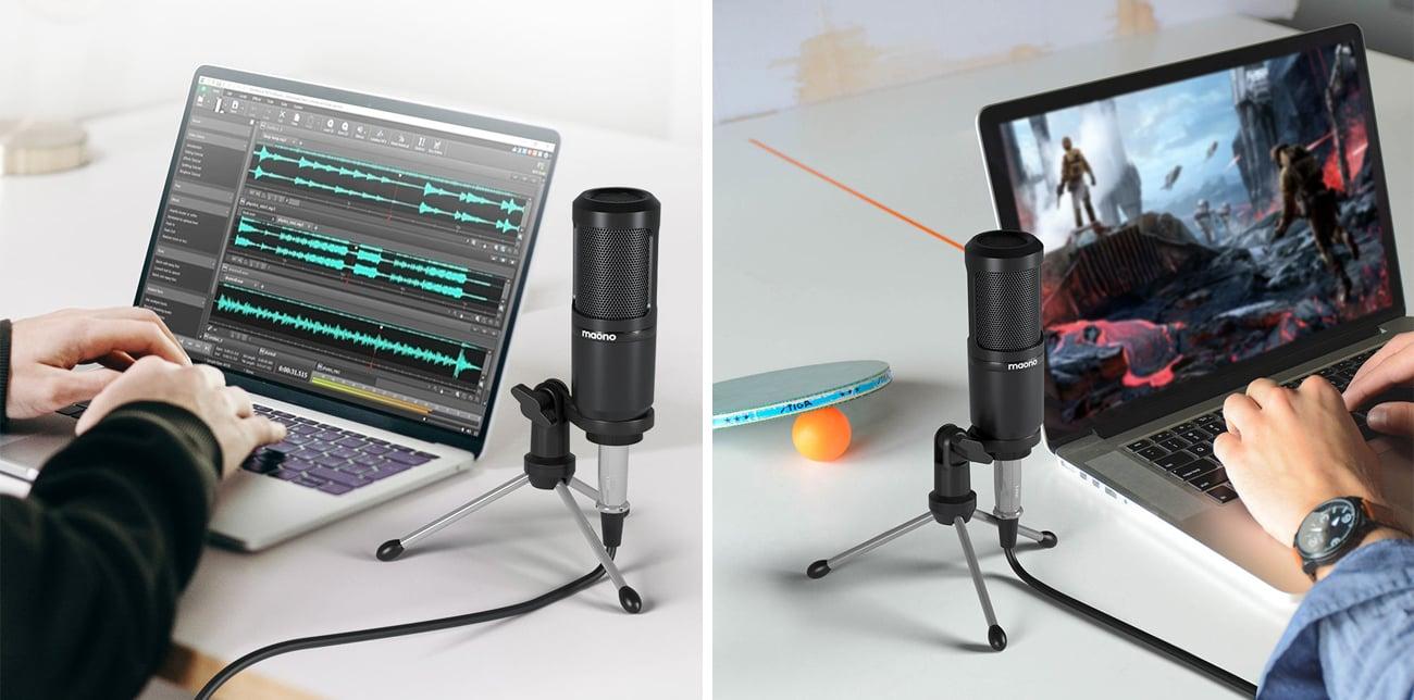 Kardioidalny mikrofon MAONO AU-PM360 TR