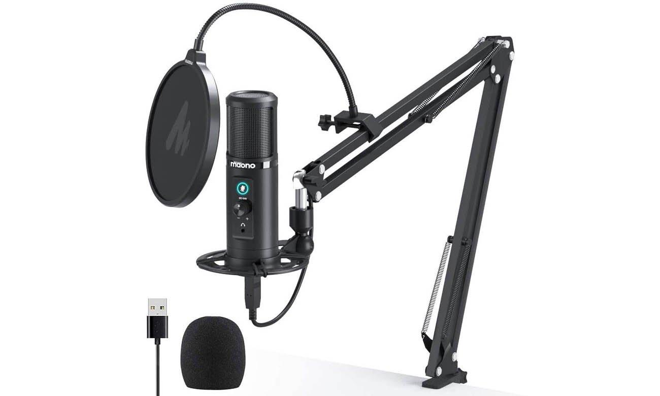 Mikrofon pojemnościowy MAONO AU-PM422