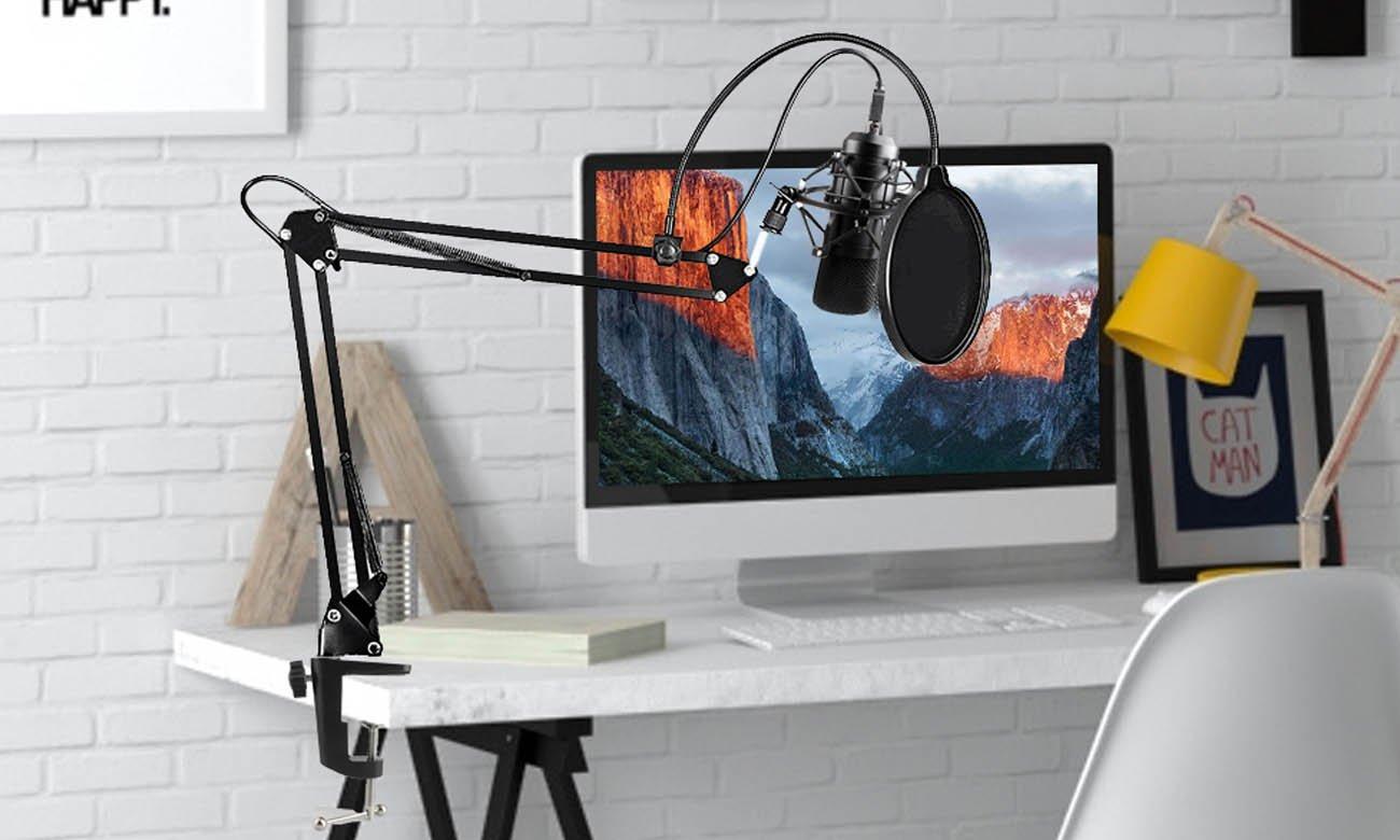 Kardioidalny mikrofon MAONO MKIT-USB
