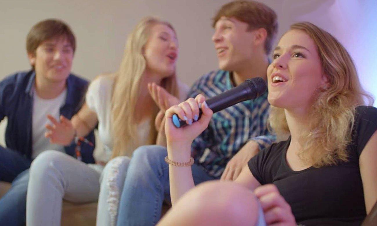 Funkcja karaoke w Manta SPK5027 NERIO
