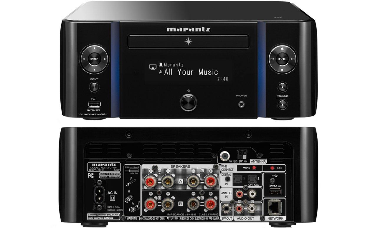 Wzmacniacz dźwięku Marantz MCR611 black