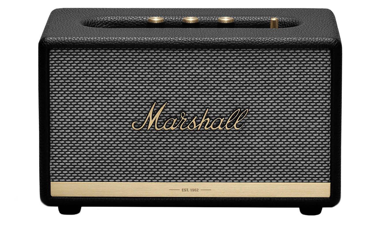 Niewielki głośnik Marshall Acton II czarny bluetooth
