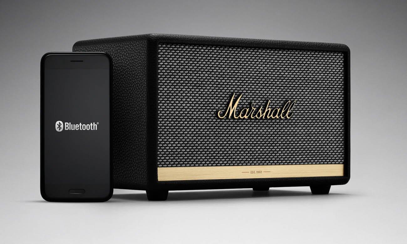 Głośnik Bluetooth Marshall ACTONIIBLK czarny Bluetooth 5.0