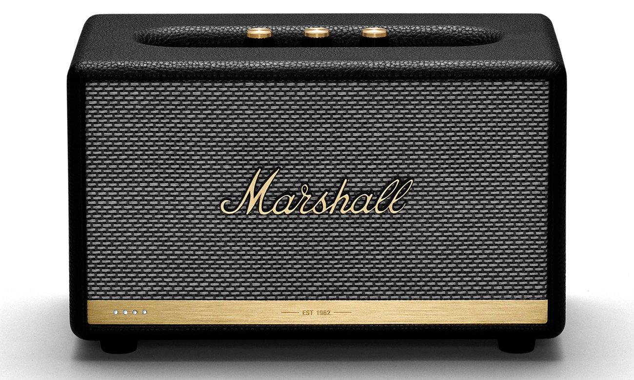 Niewielki głośnik Marshall Acton II Voice Google czarny bluetooth