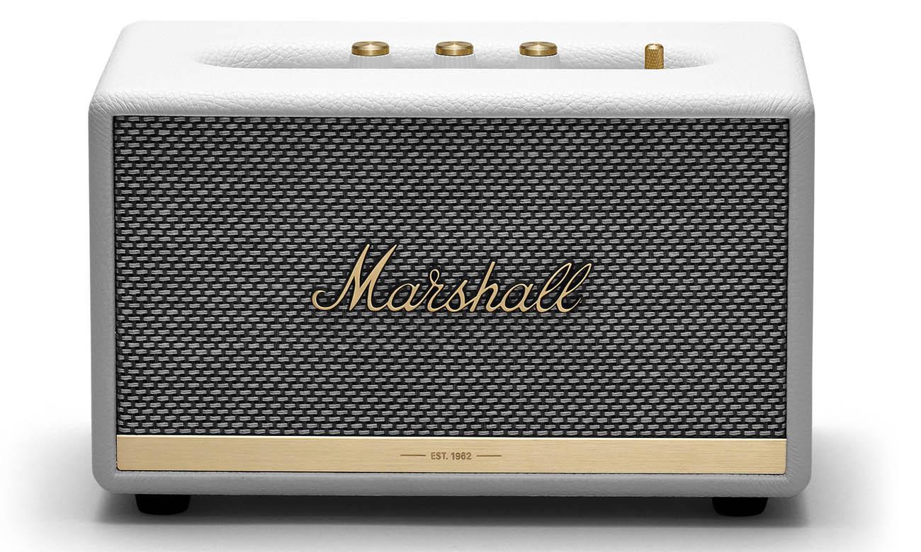 Niewielki głośnik Marshall Acton II biały bluetooth