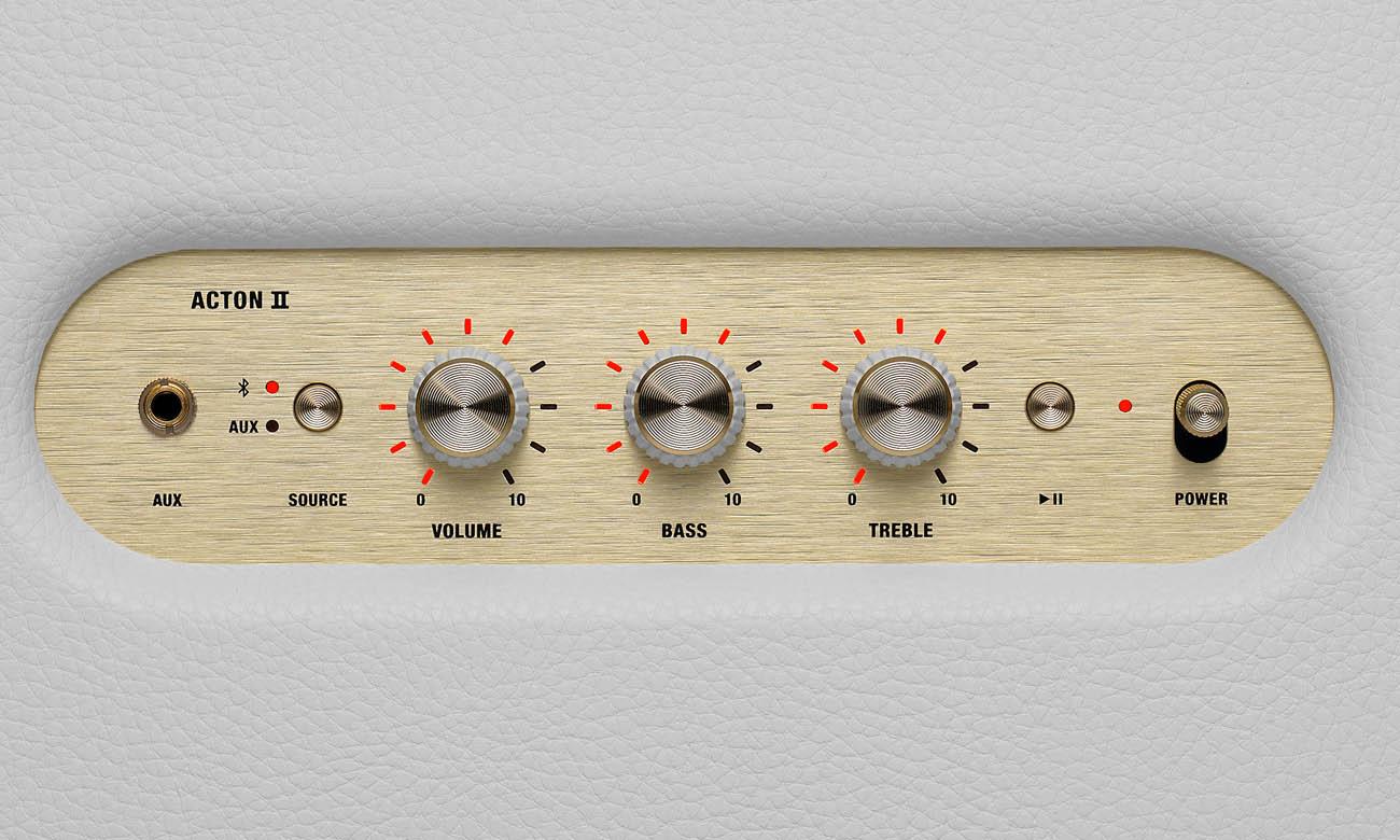 Marshall Acton II z pokrętłami analogowymi