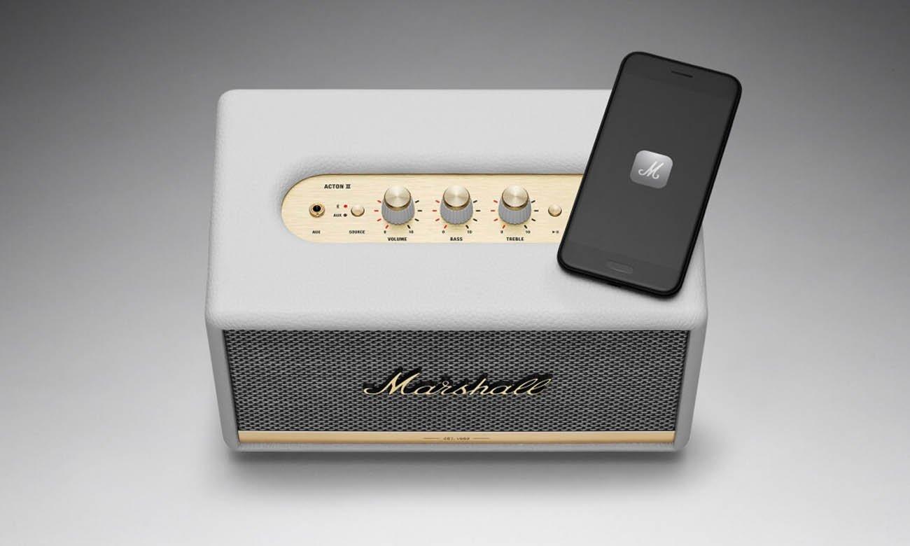 Głośnik Bluetooth Marshall ACTONIIBLK biały Bluetooth 5.0