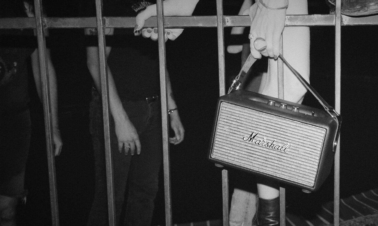 Głośnik przenośny retro Kilburn Marshall