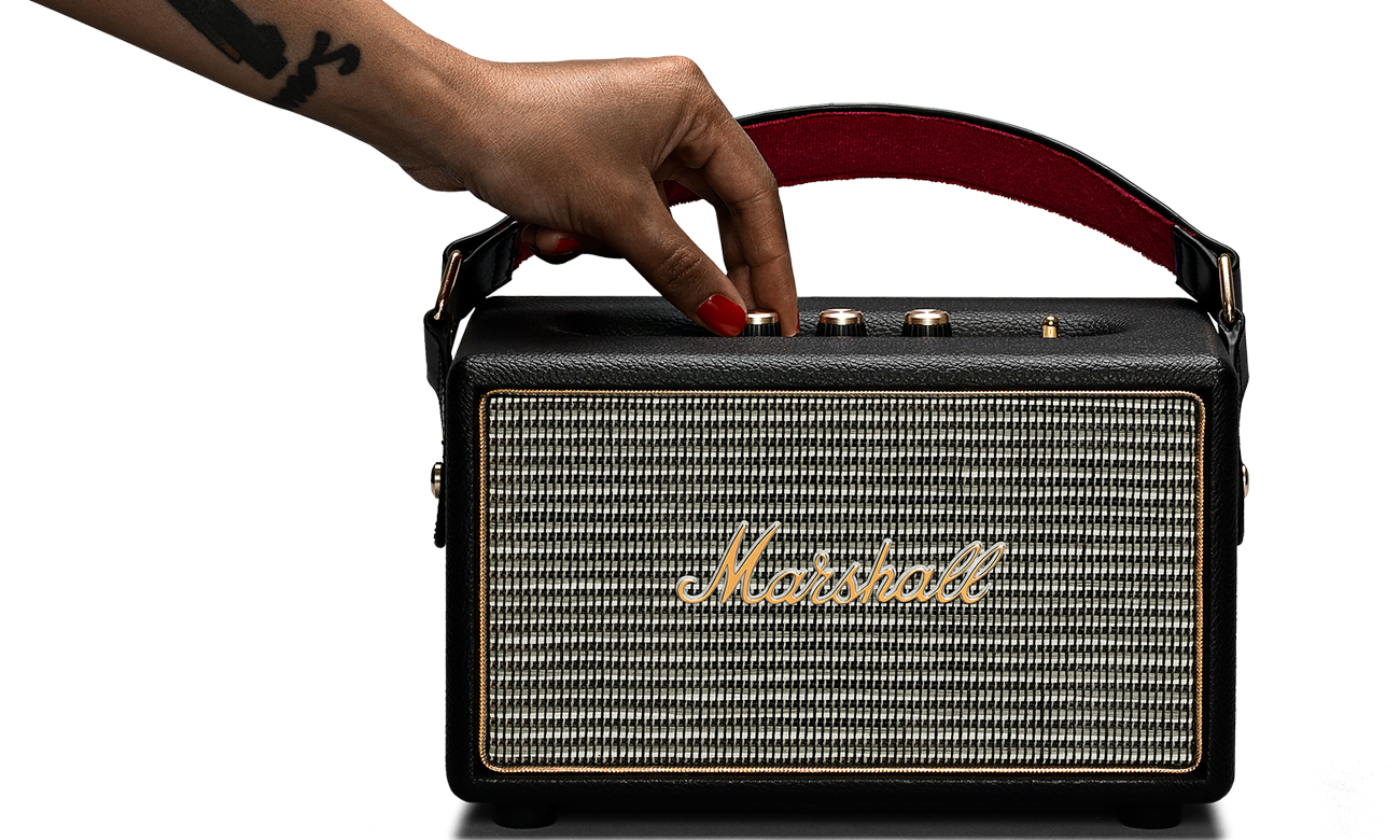 Głośni Bluetooth z mocnym brzmienie Marshall Kilburn