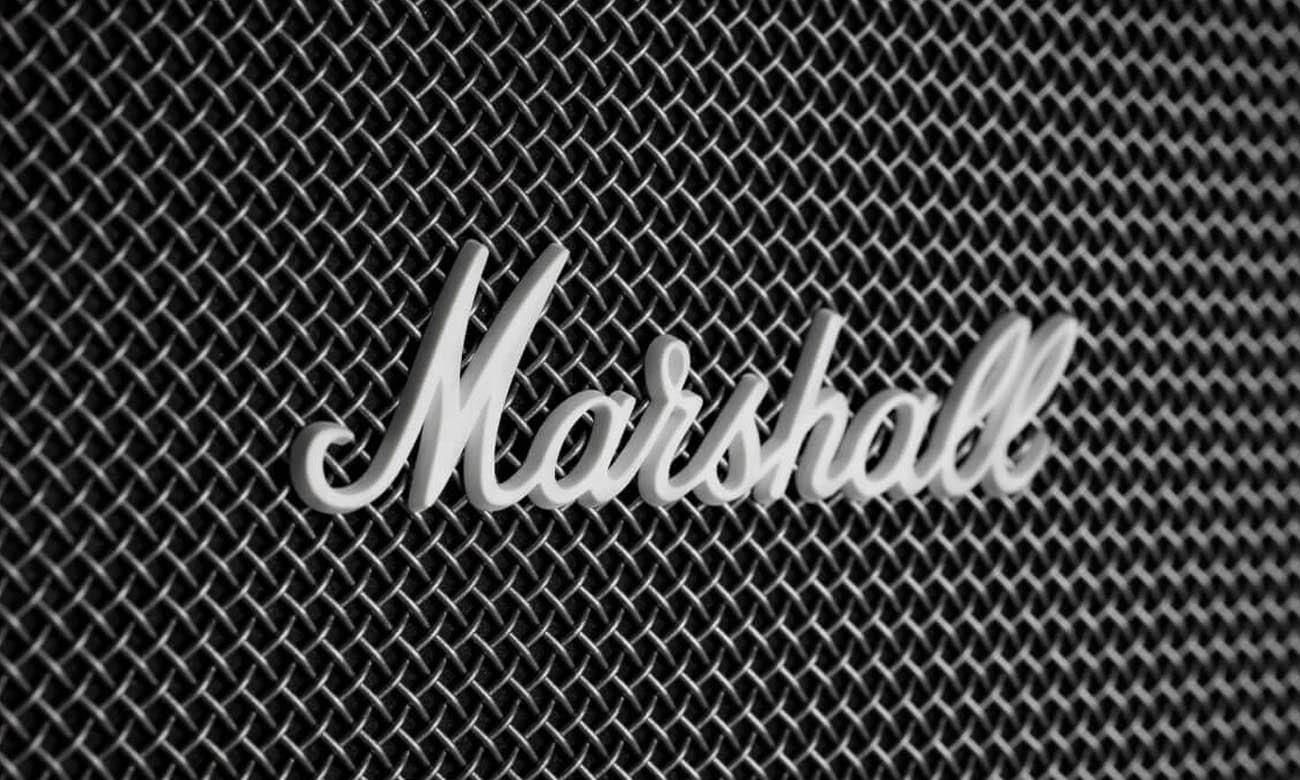Głośnik przenośny retro Kilburn II Marshall Granat