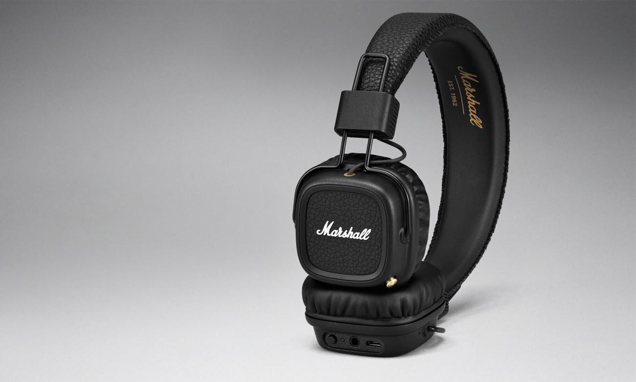 Słuchawki nauszne Marshall Major II Bluetooth Black