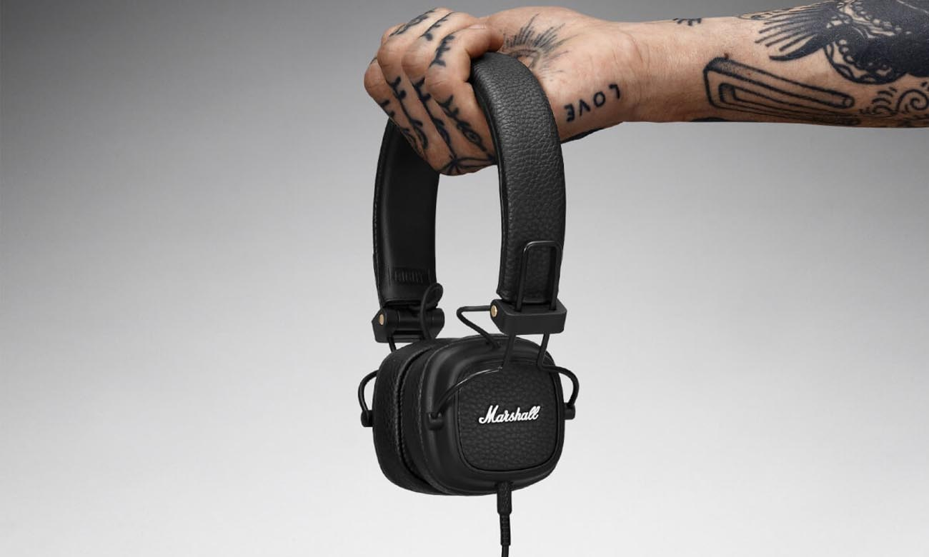 Słuchawki nauszne Marshall Major III Black