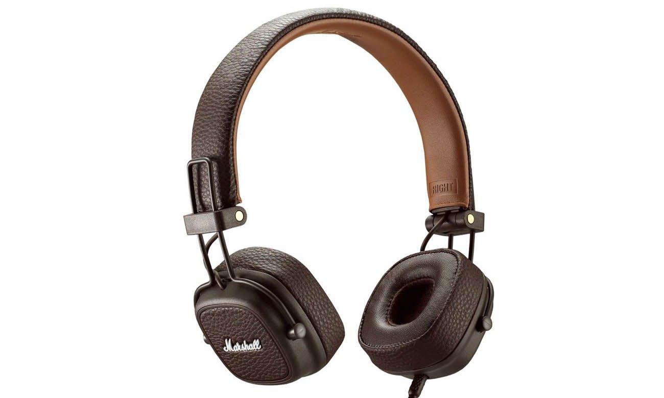 Słuchawki nauszne Marshall Major III Brown