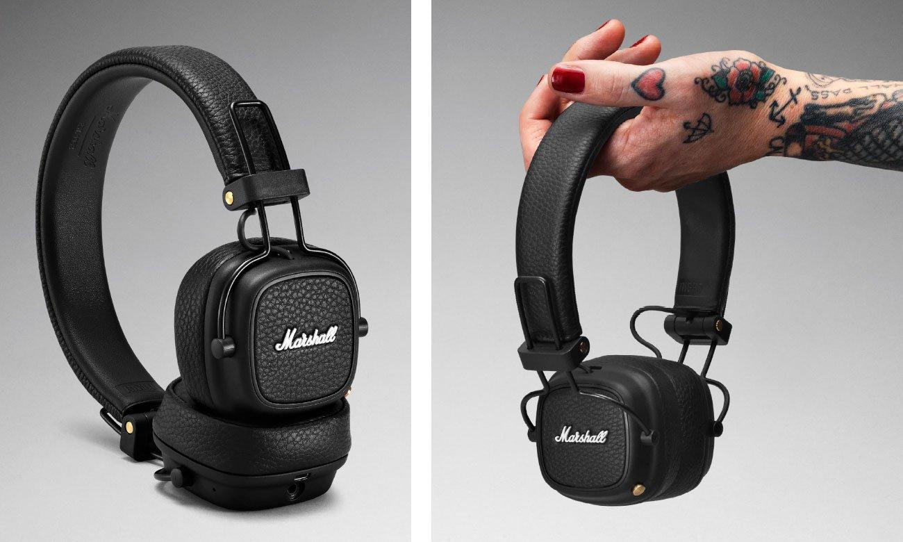 Słuchawki nauszne Marshall Major III Bluetooth Black