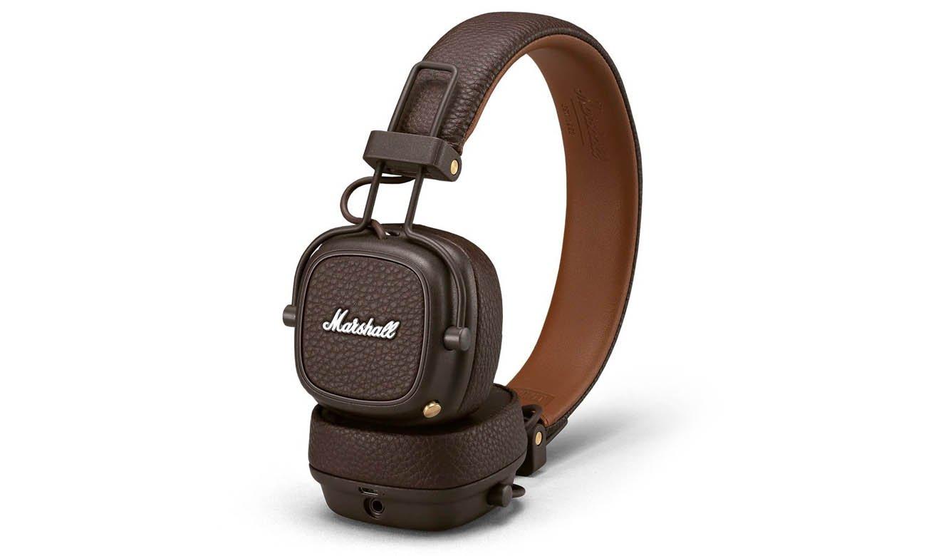 Słuchawki nauszne Marshall Major III Bluetooth Brown