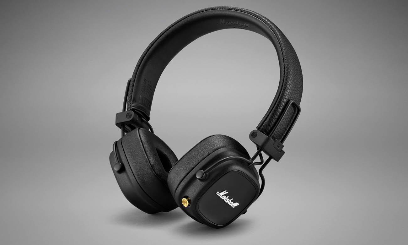 Słuchawki bezprzewodowe nauszne Marshall Major IV Czarne