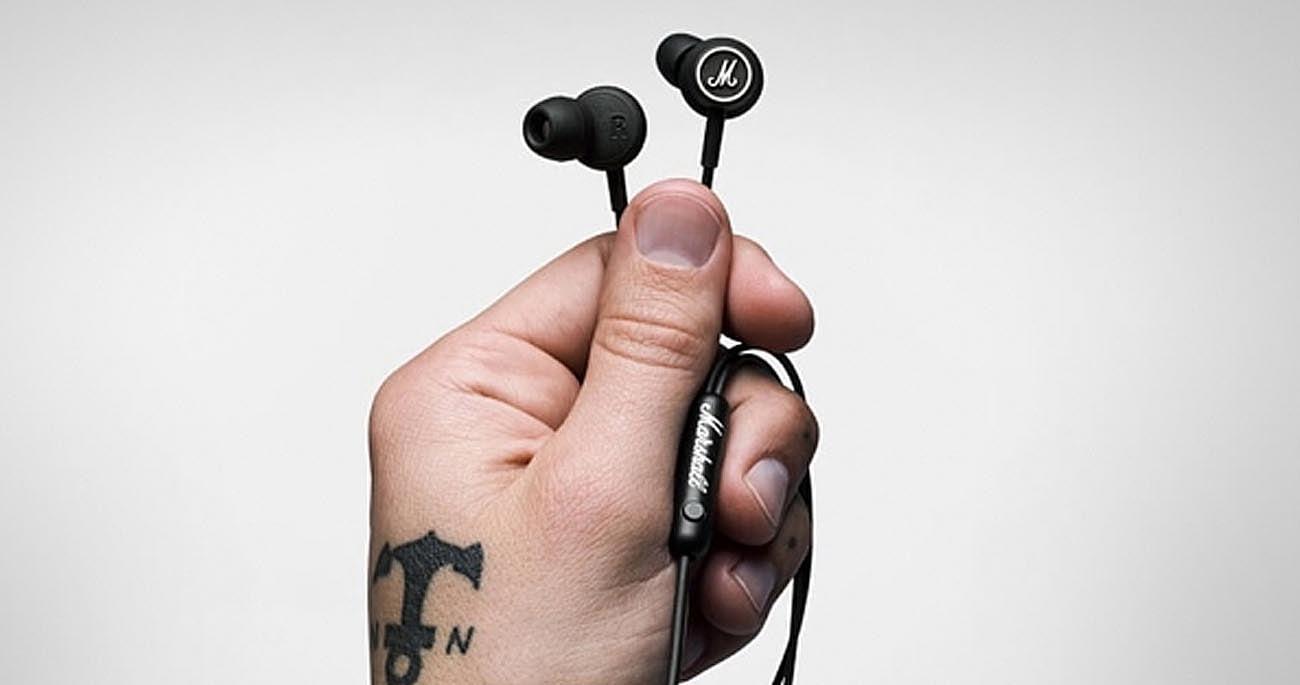 Słuchawki douszne Marshall Mode Black