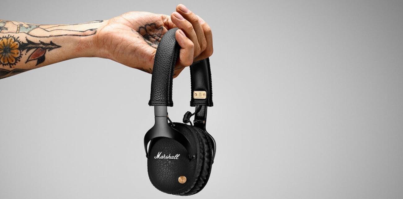Słuchawki nauszne Marshall Monitor Bluetooth Black